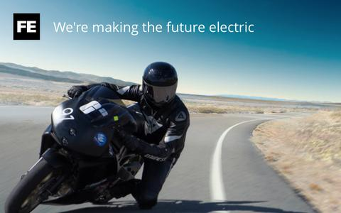 Screenshot of Home Page futureelectric.dk - Future Electric - captured Aug. 4, 2015