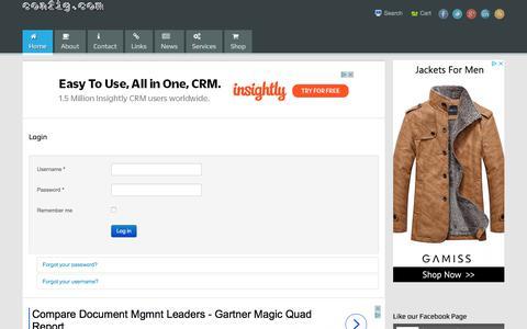 Screenshot of Login Page config.com - Login - Configure-Commerce - captured Nov. 21, 2017