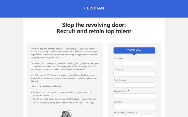 Ceridian Webinar