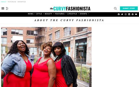 Screenshot of About Page thecurvyfashionista.com - Want to Know More? Get To Know More About The Curvy Fashionista - captured Dec. 28, 2019