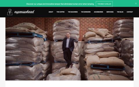 Screenshot of About Page espressohead.com.au - Office Coffee Machine Hire & Rental - captured Dec. 10, 2015