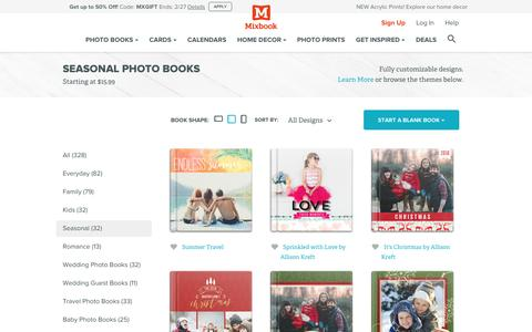 Seasonal Photo Books and Albums for Christmas, Halloween, Easter and more. | Mixbook