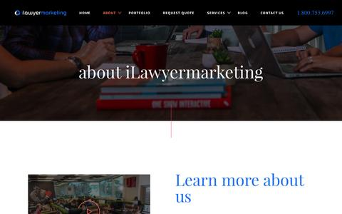 About iLawyer Marketing | Internet Marketing for Lawyers