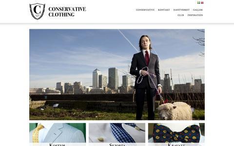 Screenshot of Home Page conservative.se - Start - Conservative.se - captured Oct. 2, 2014