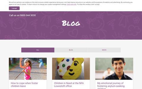 Screenshot of Blog nfa.co.uk - NFA: Blog - captured Dec. 1, 2016