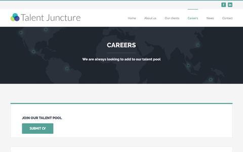 Screenshot of Jobs Page talentjuncture.com - Careers – Talent Juncture - captured Aug. 16, 2016