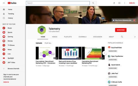 Talemetry - YouTube - YouTube