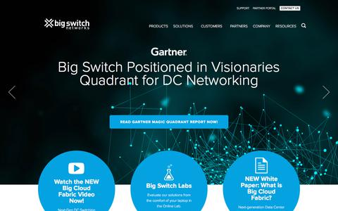 Big Switch Networks | Leader in Open Software Defined Networking
