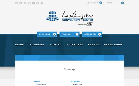 Screenshot of Site Map Page lacclink.com - Sitemap - captured Sept. 30, 2018