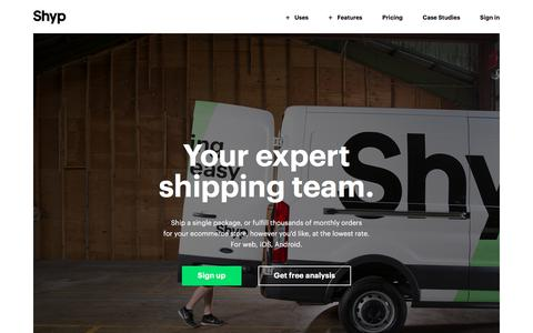 Shipping Made Easy - Compare Shipping Prices | Shyp