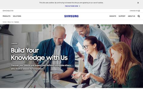 Screenshot of Jobs Page samsung.com - Careers   Samsung Semiconductor Global Website - captured July 13, 2018