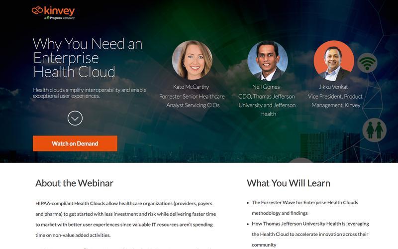 Webinar | Why You Need an Enterprise Health Cloud