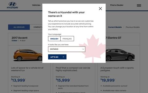 Explore Our Lineup | Showroom | Hyundai Canada - Hyundai Canada