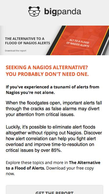 The Alternative to a Flood of Alerts