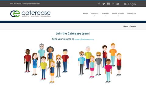Join the Caterease team! - Caterease Careers