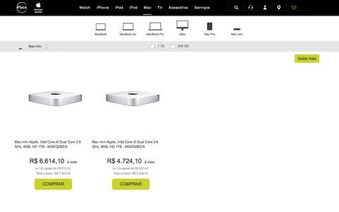 Compre Mac mini core i7, confira os preços especiais em até 12X!