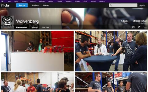 Screenshot of Flickr Page flickr.com - Flickr: Wolvenberg's Photostream - captured Oct. 26, 2014