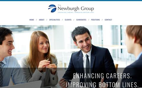 Screenshot of Home Page Site Map Page newburghgroup.com - About The Newburgh Group | The Newburgh Group - captured Oct. 18, 2017
