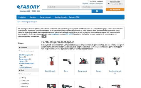 Bij Fabory bestelt u Persluchtgereedschappen van hoge kwaliteit | Fabory, Nederland