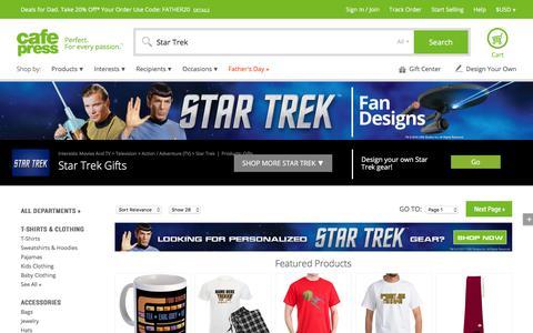 Star Trek Gifts - Cafepress