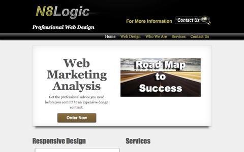 Screenshot of Home Page n8logic.net - N8 Logic | N8 Logic - captured Sept. 30, 2014