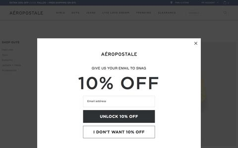Clothing for Teen Boys &  Men | Aeropostale