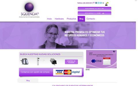 Screenshot of Blog squenda.com.mx - Blog | Squenda - captured Nov. 5, 2014
