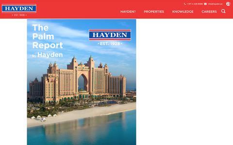 Screenshot of Blog hayden.ae - Articles - Hayden - captured Jan. 27, 2016