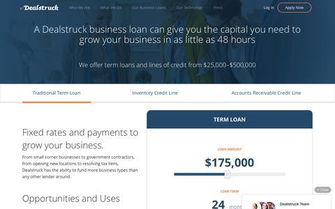 Small Business Loans | Dealstruck