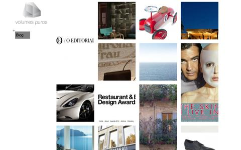 Screenshot of Blog volumespuros.pt - Blog - Volumes Puros - captured Oct. 7, 2014
