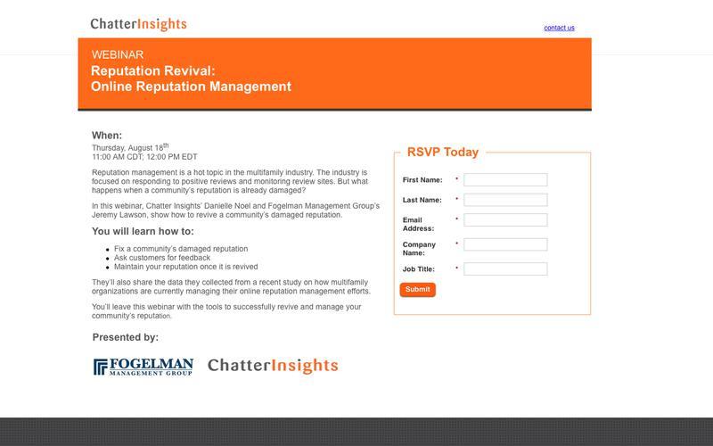 Reputation Revival: Online Reputation Management