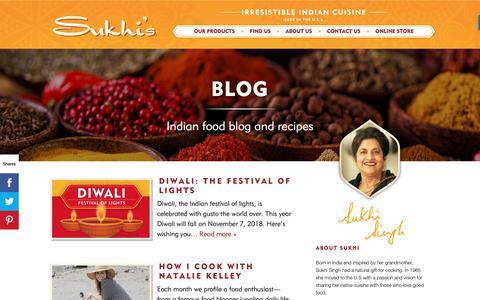 Screenshot of Blog sukhis.com - Blog – Sukhis - captured Oct. 27, 2018