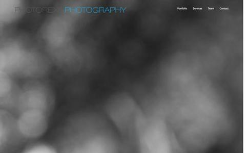 Screenshot of Home Page photorexit.com - Photorexit Photography + Evansville + Newburgh Photographer - captured Oct. 2, 2014