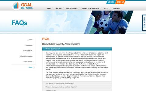 Goal Reports - FAQs