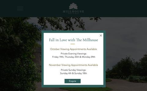 Screenshot of Home Page themillhouse.ie - Wedding Venues Meath | The Millhouse | Wedding Venues Ireland - captured Oct. 24, 2018