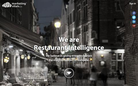Screenshot of Home Page marketingvitals.com - MarketingVitals.com - captured Sept. 30, 2014