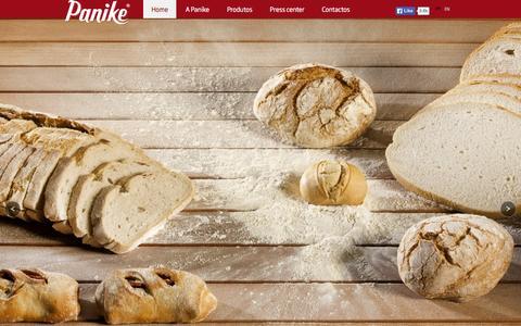 Screenshot of Home Page panike.pt - Panike SA | Vive Grandes Emo��es com a Panike - captured Dec. 6, 2015