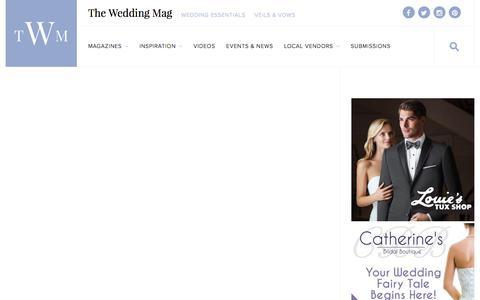 Screenshot of Testimonials Page theweddingmag.com - Testimonials | The Wedding Mag - captured Dec. 26, 2016