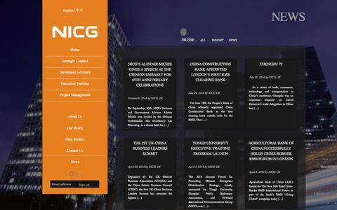 Screenshot of Press Page nicgnewland.com - - NICG Newland - captured Oct. 26, 2014