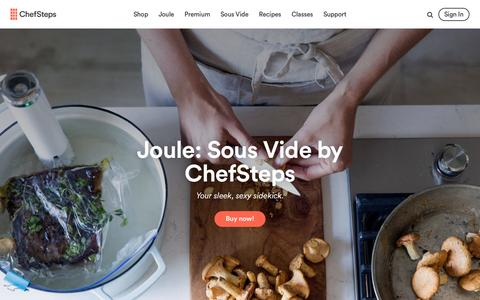 Recipes, Videos, And Tools For The Curious Home Cook | ChefSteps