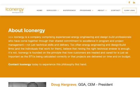 Screenshot of Team Page iconergyco.com - Our Team   Experienced Professionals in Energy Engineering   Iconergy - captured Oct. 11, 2018