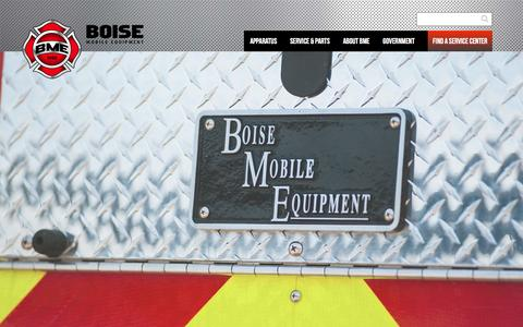 Screenshot of Jobs Page bmefire.com - Career Opportunities | BME Fire - captured Nov. 23, 2016