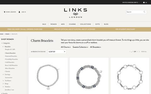 Charm Bracelets | Silver & Gold Charm Bracelets | Links of London | Links of London