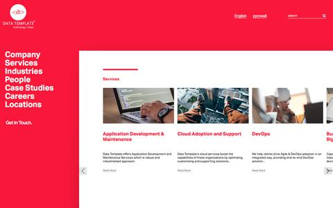 Services | Data Template