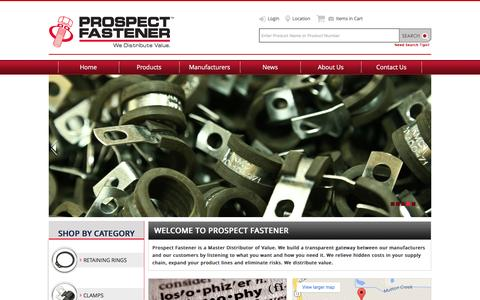 Prospect Fastener Corporation - Home