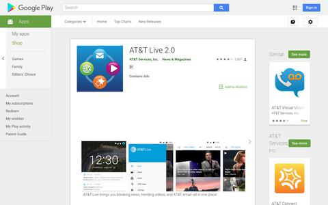AT&T Live 2.0 - Apps on Google Play