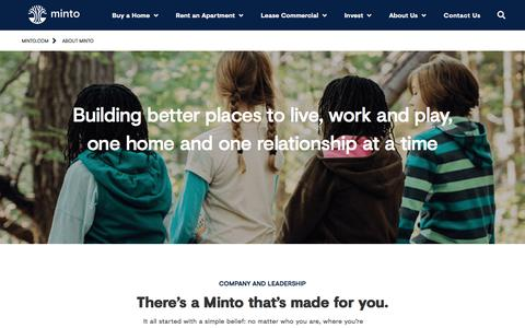 New Homes and Condos For Sale & Apartments For Rent | Minto Group Inc.
