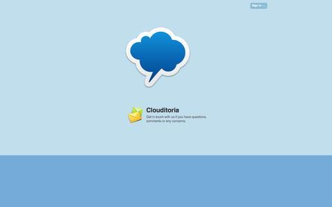 Screenshot of Blog agfunder.com - Clouditorium - captured July 25, 2016