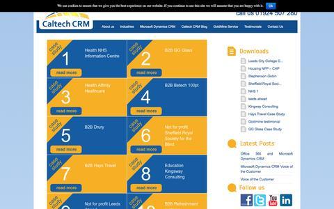 Screenshot of Testimonials Page caltech.co.uk - Testimonials | Caltech - captured Oct. 17, 2016