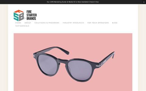 Screenshot of Terms Page firestarterbrands.com - Terms & Conditions — Fire Starter Brands LLC - captured Aug. 3, 2016